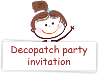 Download decopatch party invitations