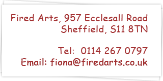 Contact Fired Arts