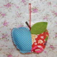 Quilted Hanging Apple